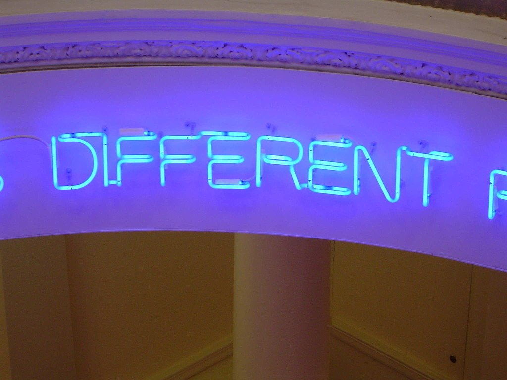 Different Languages Same Places - By Maurizio Nannucci, Bury Art Gallery